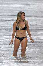 HILARY DUFF in Bikini at a Beach in Malibu 09/04/2017