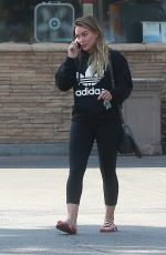 HILARY DUFF Leaves a Grocery Store in Studio City 09/08/2017