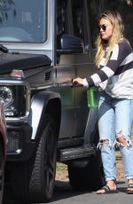 HILARY DUFF Out in Los Angeles 09/09/2017