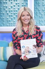 HOLLY WILLOUGHBY at Sunday Brunch Show in London 09/10/2017