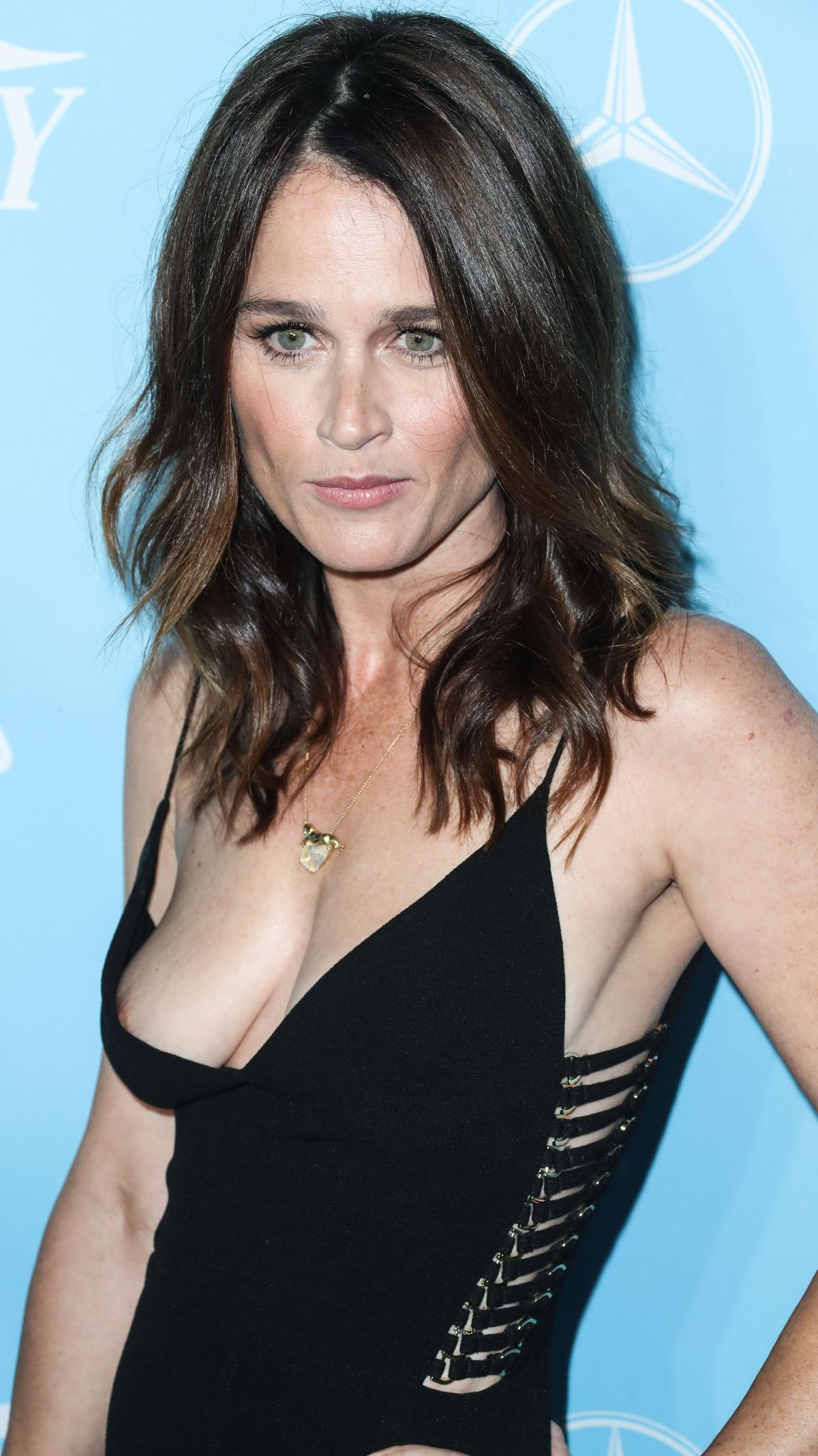 ROBIN TUNNEY at Variety & Women in Film Pre-emmy Celebration in Los Angeles  09