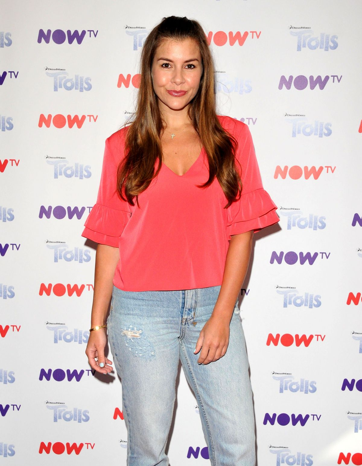 IMOGEN THOMAS at Now TV Pop-up Troll Beauty Salon VIP Launch in London 09/02/2017