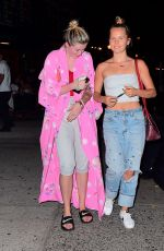 IRELAND BALDWIN and SIALOR BRINKLEY Night Out in New York 09/05/2017