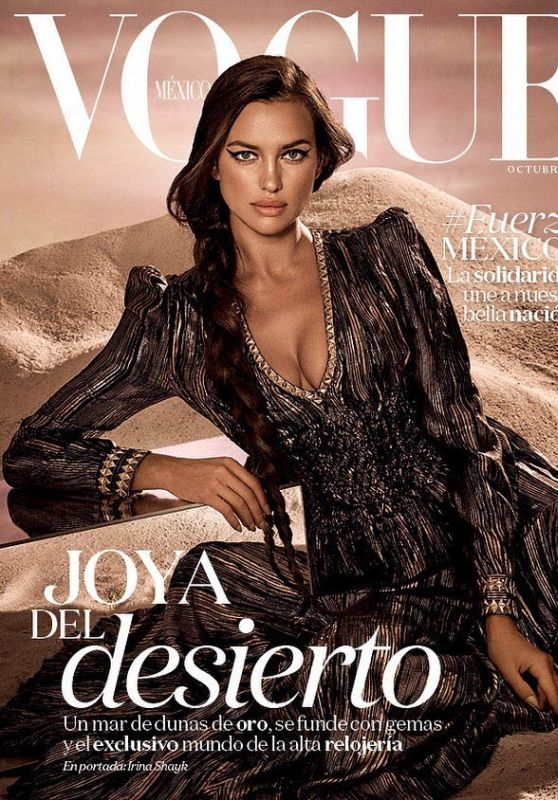 IRINA SHAYK for Vogue Magazine, Mexico October 2017