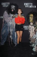 ISABELA MONER at Knott's Scary Farm Celebrity Night in Buena Park 09/29/2017
