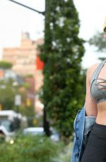 ISKRA LAWRENCE Heading to a Gym in New York 09/12/2017
