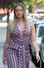 ISKRA LAWRENCE in Jumpsuit Out in New York 09/10/2017