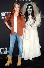 IVANA BAQUERO at Knott's Scary Farm Celebrity Night in Buena Park 09/29/2017
