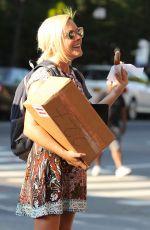 JANE KRAKOWSKI Out Shopping in New York 09/25/2017