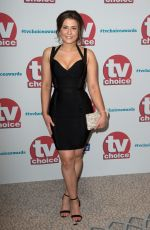 JASMINE ARMFIELD at TV Choice Awards in London 09/04/2017