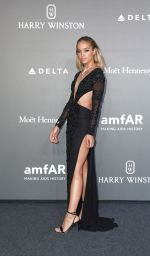JASMINE SANDERS at Amfar Gala in Milano 09/21/2017