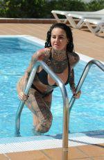 JEMMA LUCY in Bikini in Ibiza 09/13/2017