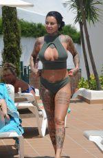 JEMMA LUCY in Bikini on Vacation in Ibiza 09/12/2017