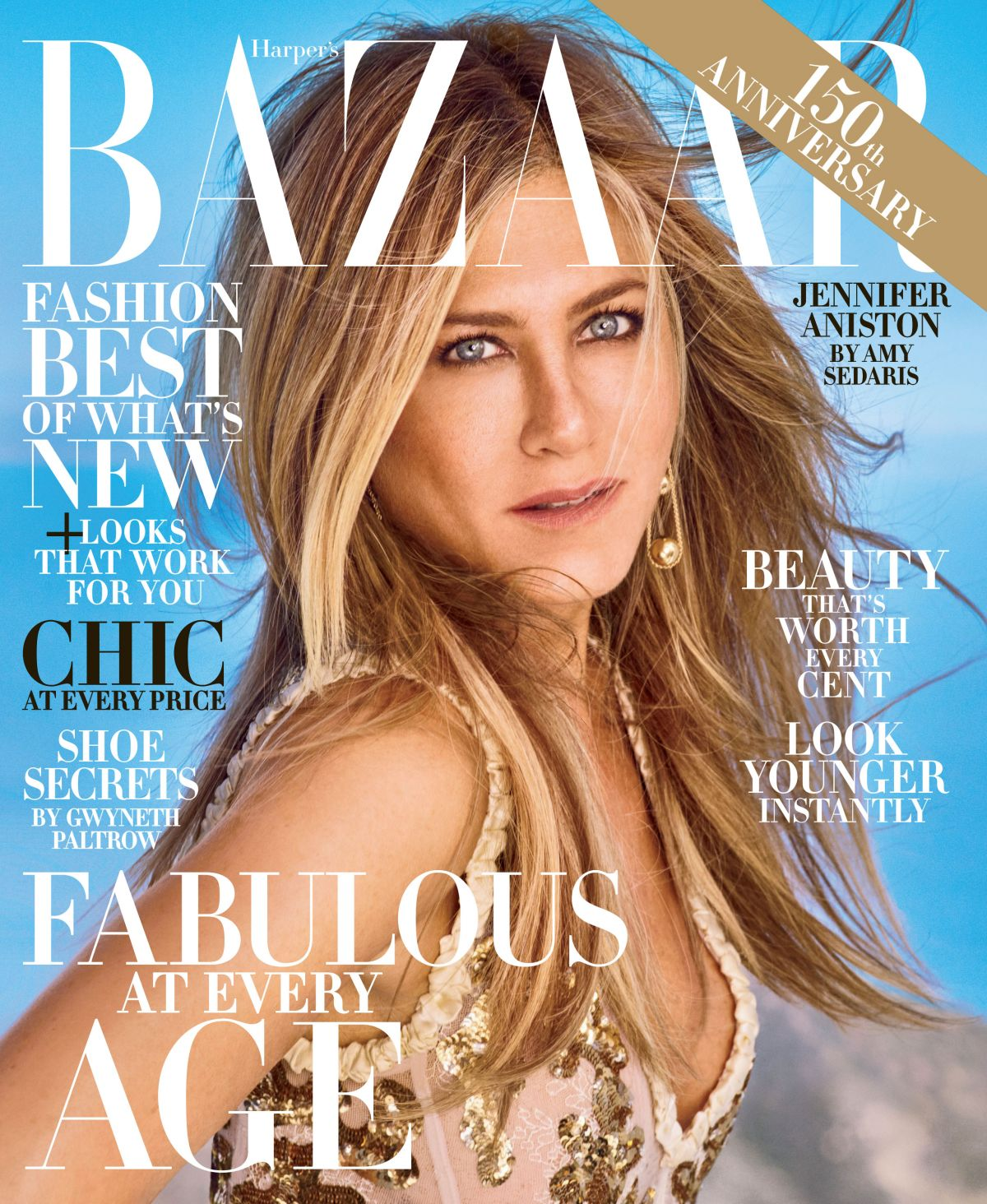 JENNIFER ANISTON for Harper
