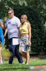 JENNIFER ANISTON on the Set of Dumplin in Jonesboro 09/06/2017