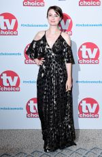 JENNIFER KIRBY at TV Choice Awards in London 09/04/2017