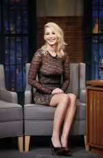 JENNIFER LAWRENCE at Late Night with Seth Meyers in New York 09/14/2017