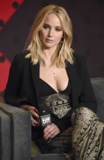 JENNIFER LAWRENCE at Mother! Press Conference in Toronto 09/10/2017