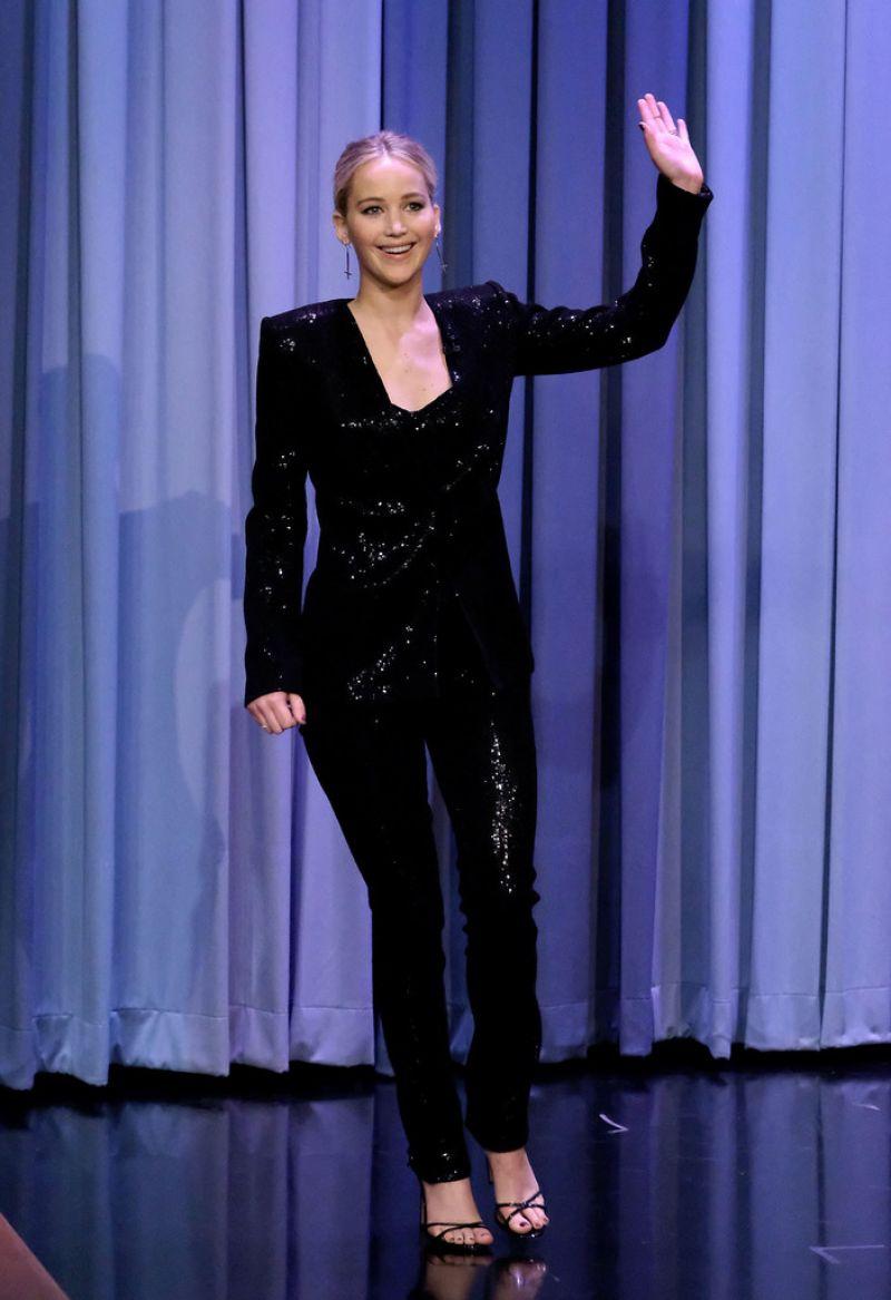 JENNIFER LAWRENCE at Tonight Show Starring Jimmy Fallon in New York 09/12/2017