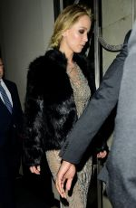 JENNIFER LAWRENCE Leaves Her Hotel in London 09/06/2017