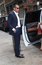 JENNIFER LOPEZ Arrives at ABC Kitchen in New York 09/26/2017