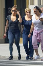 JENNIFER LOPEZ Heading to a Gym in New York 09/26/2017