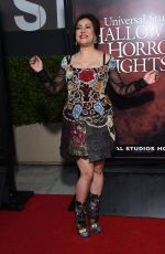 JENNIFER TILLY at Halloween Horror Nights Opening Night in Hollywood 09/15/2017