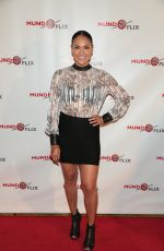 JES MEZA at MundoFlix Launch Party in Studio City 08/28/2017
