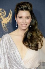 JESSICA BIEL at 69th Annual Primetime EMMY Awards in Los Angeles 09/17/2017