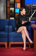 JESSICA BIEL at Late Show with Stephen Colbert 09/08/2017