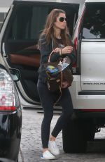 JESSICA BIEL Out and About in Studio City 09/16/2017