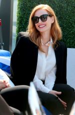JESSICA CHASTAIN at Grey Goosse Cocktails & Conversation with Cast of Woman Walks Ahead in Toronto 09/10/2017