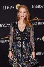JESSICA CHASTAIN at hfpa & Instyle Annual Celebration of 2017 TIFF 09/09/2017