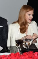 JESSICA CHASTAIN at Ralph Lauren Fashion Show Dinner at New York Fashion Week 09/12/2017
