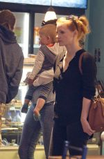 JESSICA CHASTAIN Out and About in Quebec 09/04/2017