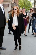 JESSICA CHASTAIN Out and About in Toronto 09/10/2017