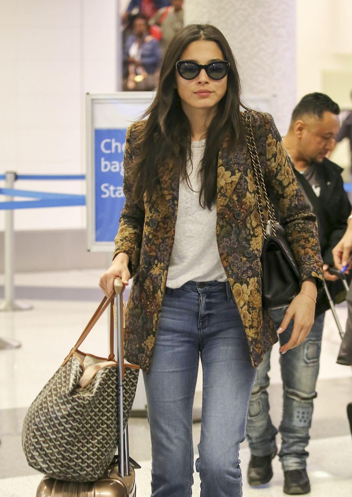 JESSICA GOMES at Los Angeles International Airport 09/15/2017
