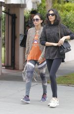 JESSICA GOMES Out and About in Beverly Hills 09/17/2017