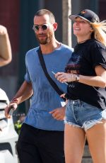 JESSICA HART in Daisy Dukes Out in York 09/25/2017