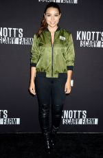 JESSICA PARKER KENNEDY at Knott's Scary Farm Celebrity Night in Buena Park 09/29/2017
