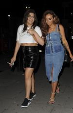 JESY NELSON Leaves Tape Club in London 09/16/2017