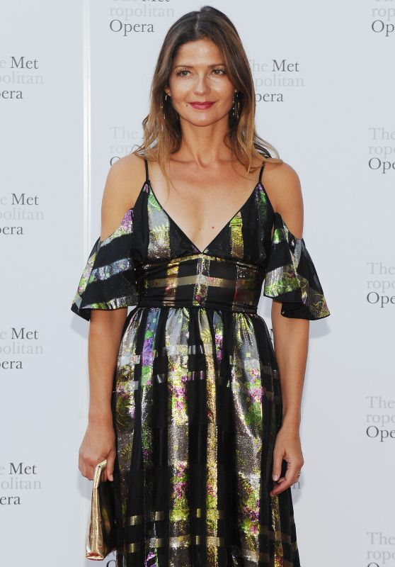 JILL HENNESSY at Metropolitan Opera Opening Night in New York 09/25/2017