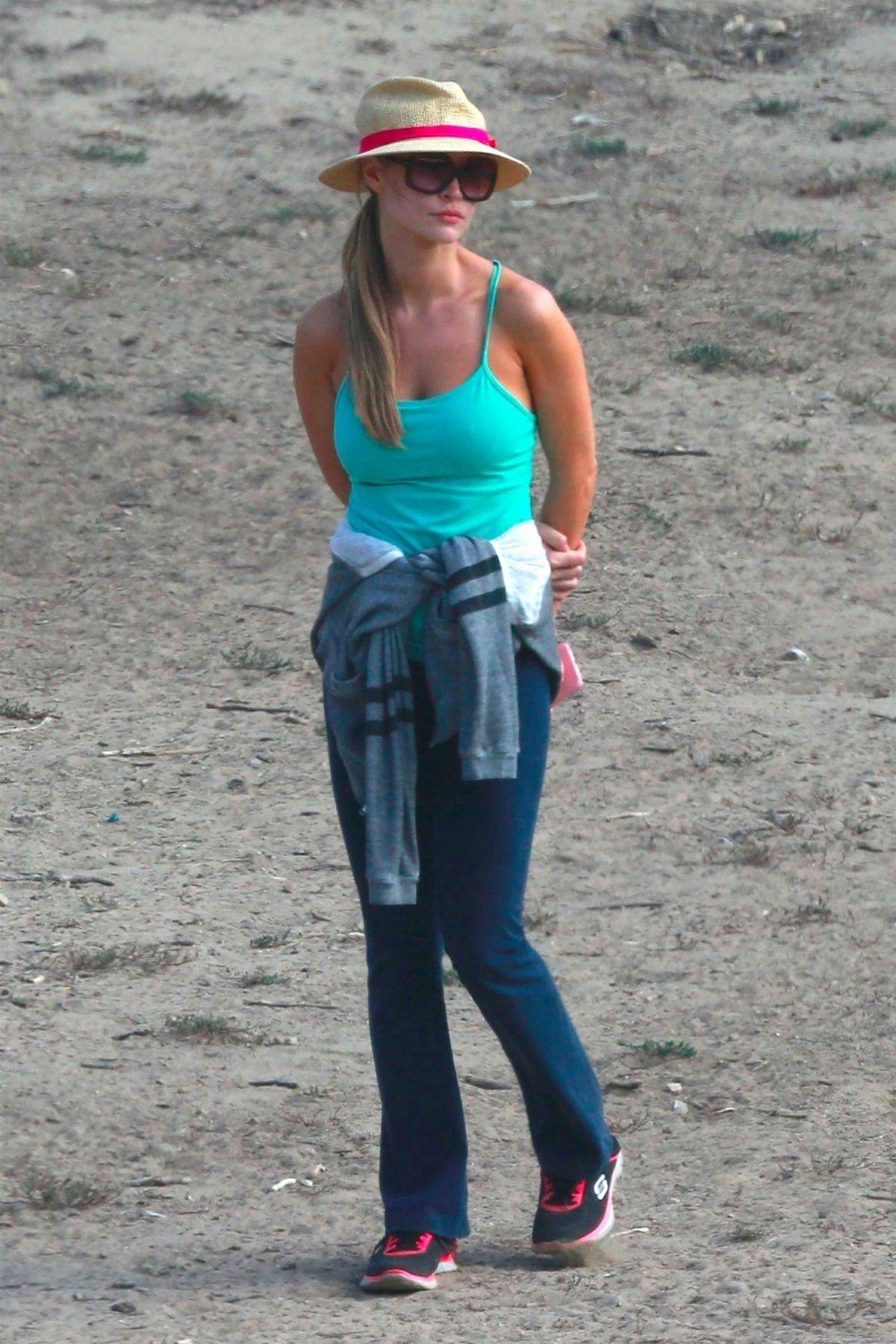 JOANNA KRUPA at Dog Park in Los Angeles 09/15/2017