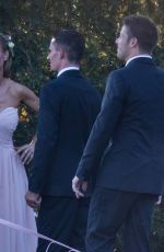 JOANNA KRUPA at Marta Krupa and Marco Andretti Wedding in Pennsylvania 09/23/2017