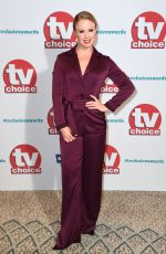 JOANNE CLIFTON at TV Choice Awards in London 09/04/2017