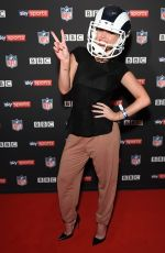 JORGIE PORTER at NFL UK Kick-off Party in London 09/10/2017