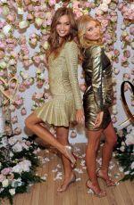 JOSEPHINE SKRIVER and ELSA HOSK at All-new Love Fragrance Launch in New York 09/07/2017