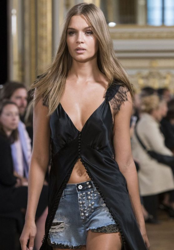 JOSEPHINE SKRIVER at Redemption Fashion Show at Paris Fashion Week 09/29/2017