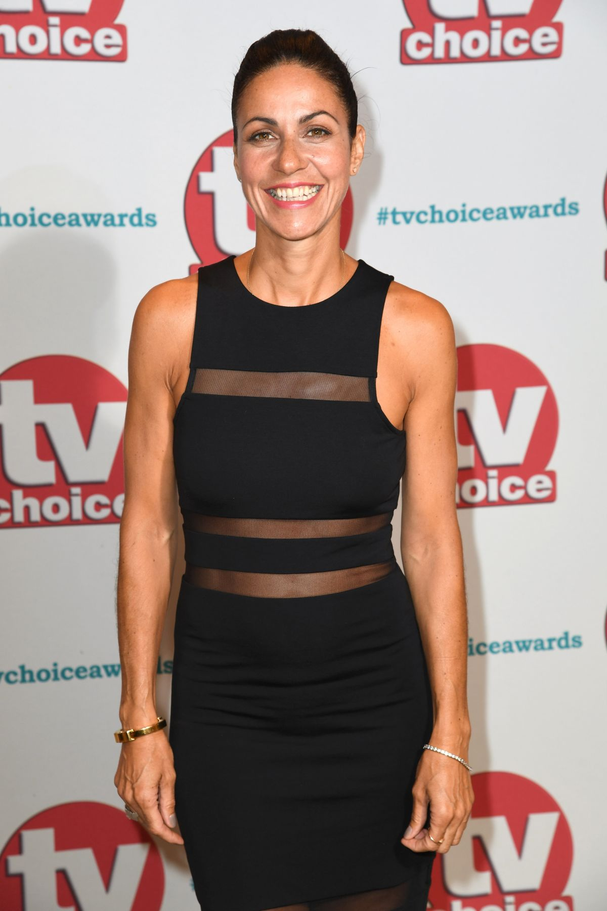 JULIA BRADBURY at TV Choice Awards in London 09/04/2017