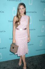 JULIA ENGEL at Tiffany & Co. Fragrance Launch in New York 09/06/2017